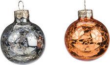 Primitives by Kathy Fall Halloween Mini Glass Ball Ornaments Box of 12