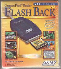 CompactFlash Reader, versión de transferencia de USB, PIX, datos y sonido, respaldo externa