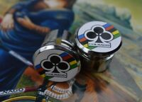 Colnago plugs handlebar bar end world champion chrome vintage master olympic NEW
