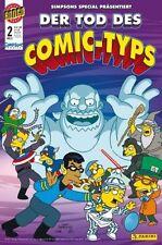 Simpsons la muerte del comic-tipo #1,2+3 completo-set kioskausgabe + Top +