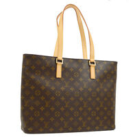 LOUIS VUITTON LUCO SHOULDER TOTE BAG PURSE MONOGRAM M51155 AK31709h