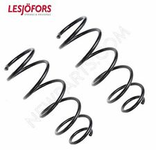 Smart Fortwo 08-15 Pair Set Of 2 Rear Coil Springs With Brabus Package Lesjofors