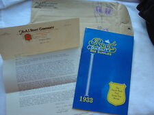 Vtg 1933 Root Bee Supply Supplies Catalog in Original Envelope Letter