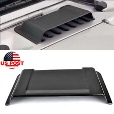 Black Auto Cowl Vent Hood Scoop Fit for Jeep Wrangler 1998-2017 TJ JK &Unlimited