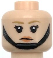 Tan Minifigure Heads x4 No face NEW LEGO MINIFIGURE BODY PARTS