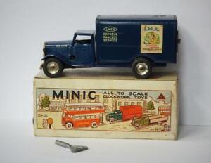 TRIANG MINIC V.RARE BOXED 81M TINPLATE C/W L.N.E.R. EXPRESS PARCELS SERVICE VAN