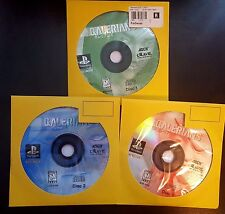 Galerians Sony Playstation 1 PSX PS1 PS2 Three Discs! Works Great! Rare!
