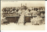 CF-482 France, Paris Exposition Universelle Real Photo Postcard RPPC