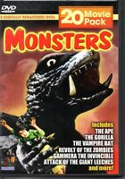 Monsters 20 Movie Pack (5 Disc) (DVD, 2005, 5-Disc Set) Open box