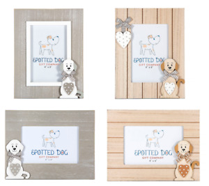 Photo Picture Frame 6 x 4 Inch Home Room Decor Dog Lover Gift Adult Kids Baby