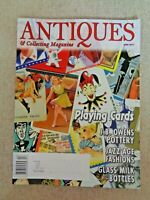 Antiques & Collecting Magazine April 2011 Playing Cards J B Owens Charles Schulz