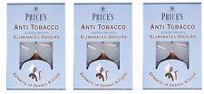 18 X PRICES SCENTED ANTI TOBACCO TEALIGHT CANDLES ELIMINATES SMOKING ODOURS