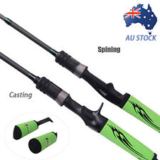 1.98M Carbon Ultralight Spinning&Casting Fishing Rod Pole 4 Sections 6-12LB