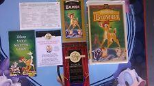 RARE DISNEY VHS BAMBI  12/18/96