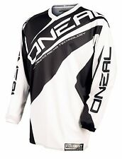 ONEAL O'neal Element YOUTH motocross jersey white/black EXTRA LARGE 0025-105