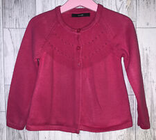 Girls Age 3-4 Years - Pink Cardigan From George