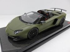 MR Lamborghini Aventador LP750-4 SV Roadster Taiwan Limited Edition Carbon Base