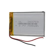 3.7V 700 mAh Polymer Li Lithium Cells For Camera GPS Mp4 DVD  Tablet PC  303759