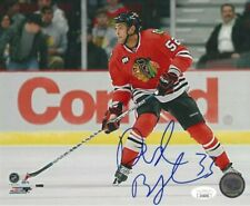 DUSTIN BYFUGLIEN signed Chicago Blackhawks 8x10 photo w/JSA COA