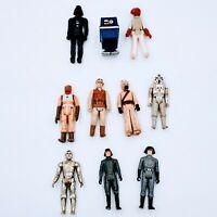 Vintage Kenner Star Wars 1977-1982 Figure Lot of 10 ORIGINAL FIGURES. Pre-owned.