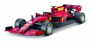 Bburago Modèle Miniature 2020 Ferrari F1 SF1000 #16 Charles Leclerc 1/43