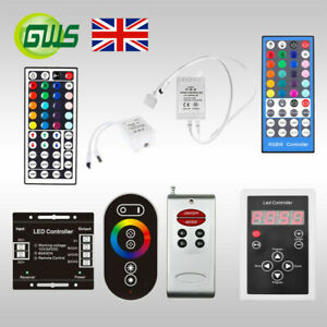 LED 3528 5050 RGB/RGBW/Dream Colour/Pixel Strip Light Dimmer Controller IR/RF