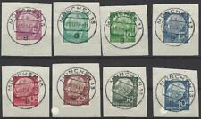 Bund 1957 Heuss lumogen mit 8 handelsüblichen Y-Werten 179,181,183-186,259,260