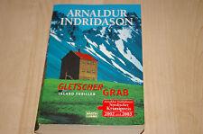 """*Gletschergrab* von Arnaldur Indriðason   """"Ein Island Thriller / Krimi"""""""