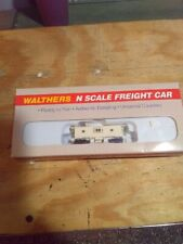 N-Scale Walthers Undecorated Bay Window Caboose Kit 932-8750