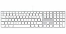 APPLE A1243 Tastiera usb MB110LL/B Keyboard Wired con filo originale per iMac pc