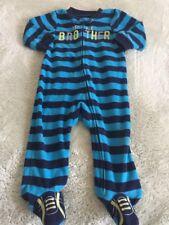 cf8e6bf4d Striped Fleece Sleepwear (0-24 Months) for Boys