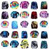 Tie Dye T Shirt Long Sleeve Adult Tye Die S M L XL 2XL 3XL Cotton 100%