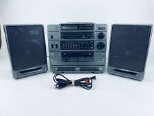 RCA RP-7950 Vintage CD Dual Cassette Stereo Portable Boombox Ghetto Blaster