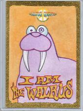 "Woodstock Generation Rock Posters ~ Erik Maell Sketch Card ""I am the Walrus"""