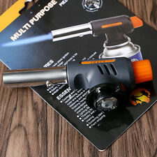 Multi Purpose Gas Torch Auto Ignition Flamethrower Camping Outdoor BBQ Tools