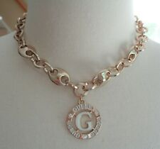 GUESS, NWT, Gold Tone and Enamel Link Necklace. RV $22.