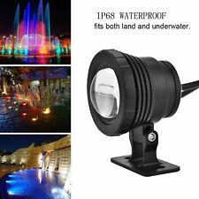 LED Underwater Spot Light Lamp Color Change Remote Aquarium Fountain Pond Tank