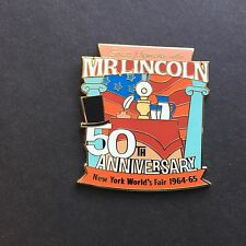 Cast Member 50th Anniversary New York World Fair Mr. Lincoln Disney Pin 105750