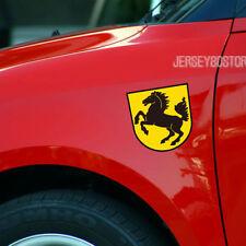 2pc x4'' Reflective Stuttgart Horse Car Decal Sticker Fit for Porsche etc