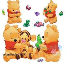 Winnie & Tiger Wall Decals Removable Sticker kids decor nursery mural baby Art