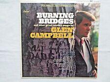 Glen Campbell Burning Bridges 1967 Capitol ST-2679 Scranton B-2/B-2 Pressing NM-