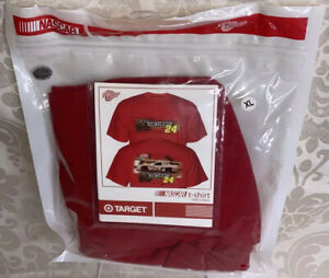 VTG Winner's Circle Red Jeff Gordon Number 24 NASCAR Dupont T-Shirt Size XL G2