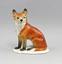 ENS-Porzellan Figur Listiger Fuchs  17,5x9x21,5cm 4398