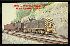 LMH Postcard  KENTUCKY & TENNESSEE Ry  Alco S-2 K&T #101 #103  Freight Shortline
