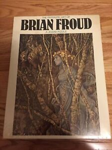 Rare 1977 The Fantastic Art of Brian Froud Jigsaw Puzzle The Elfin Maid 6155