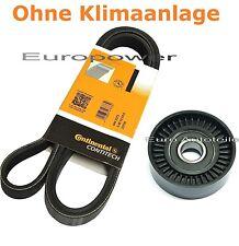 Keilrippenriemen+Spannrolle Für VW LUPO 1.0 1.4 L - 1.6 GTI 98-2005 Servolenkung