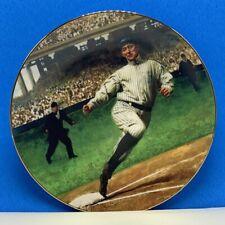 Legends of Baseball collectors plate Delphi Ty Cobb Detroit Tigers Georgia Peach