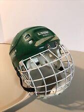 Cooper SK 600 S Vintage  Hockey Helmet Green Size small w VL50 Cooper Facemask