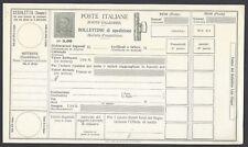 STORIA POSTALE REGNO 1930 Modulo Pacchi Postali 5L NUOVO (E7)