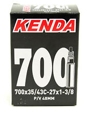 KENDA BICYCLE INNER TUBE 700x35-43 / 27x1-3/8